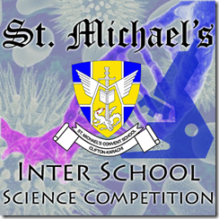 St. Michael's Inter School Science Competition 2013 Logo
