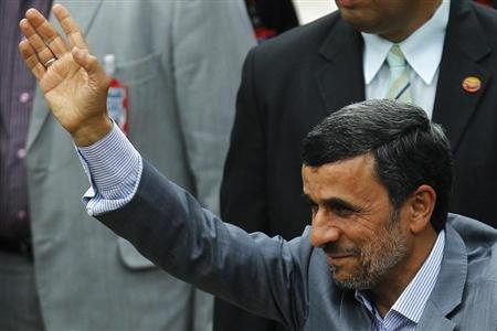 President Mahmoud Ahmadinejad of the Islamic Republic of Iran