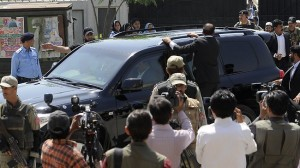 Musharraf escapes from IHC