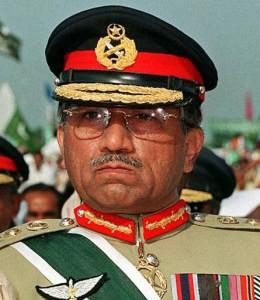 General Pervez Musharraf in uniform