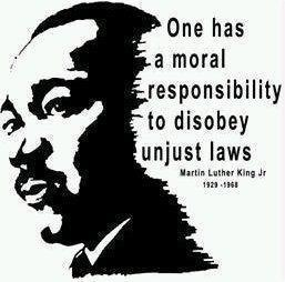Martin Luther King Jr- Unjust Laws